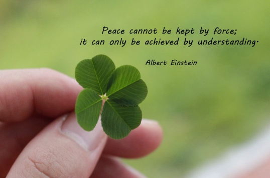 Peace-Albert Einstein