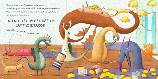 Dragons Love Tacos Eating Tacos