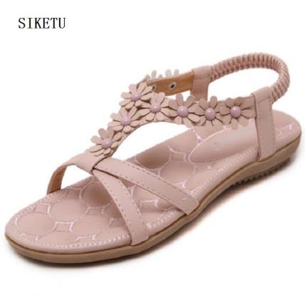 pink-flower-sandals