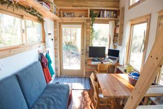 inside tiny house one