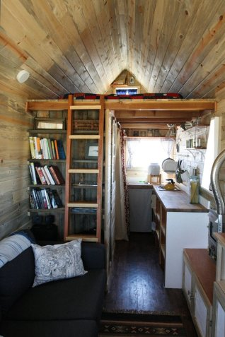 inside tiny house three