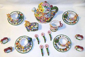 19pc-children-s-springtime-tea-set-bunny-garden-ceramic-hand-painted-easter-e37bcc74e8f04bd666e0608488a581de
