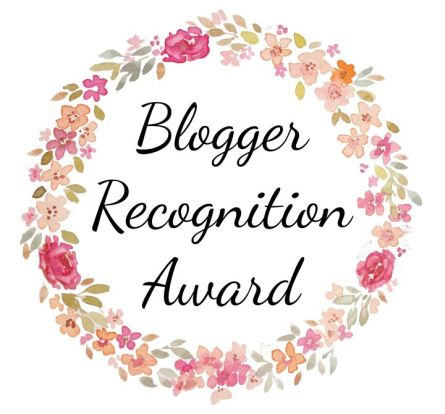 blogger recognition award three