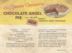 Chocolate Angel Pie Recip #2