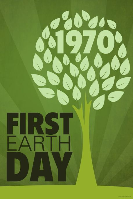 first earth day, 1970