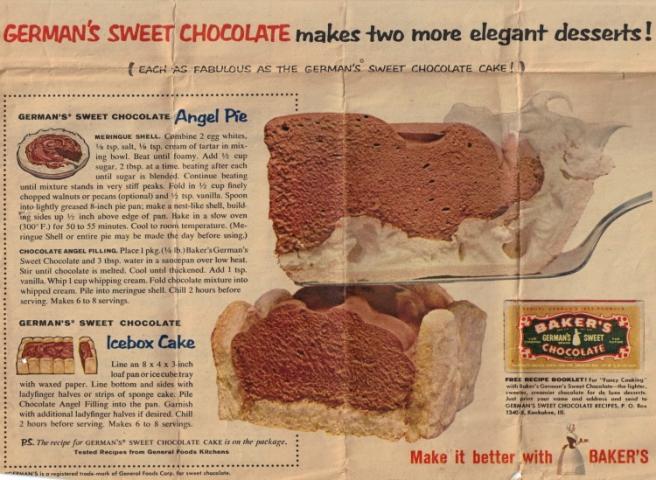 German Chocolate Angel Pie #2