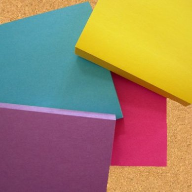 sticky notes three