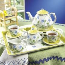 tea set four