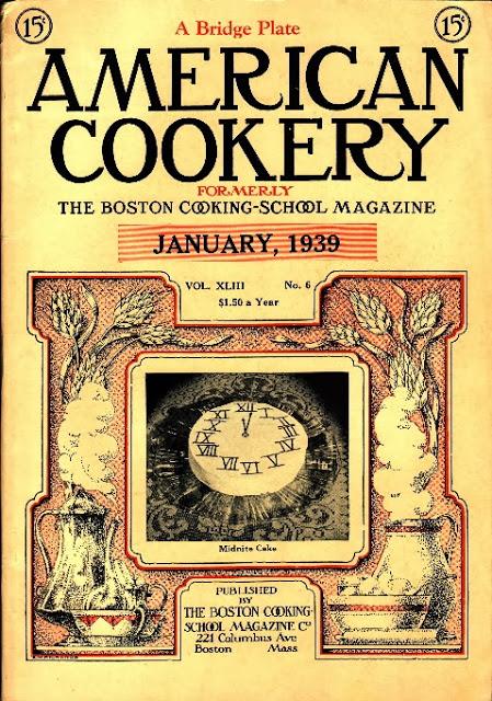 American Cookery Magazine one