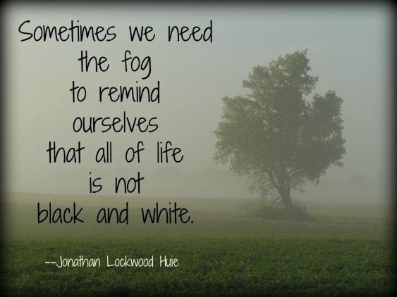 fog quote