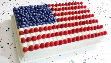 fourth of July cake one
