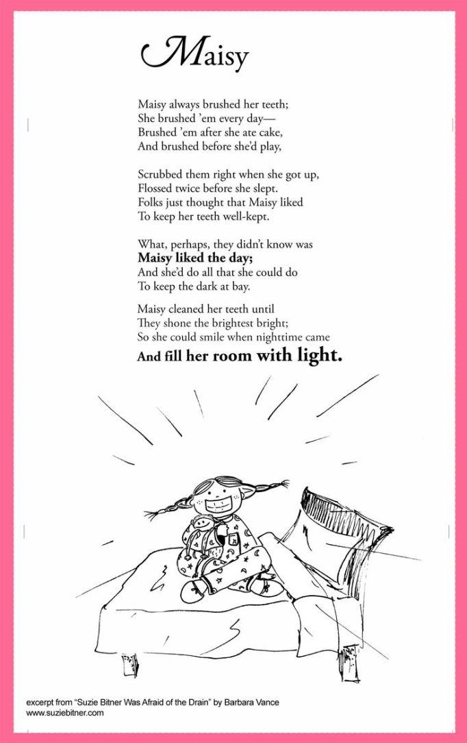 brushing teeth poem