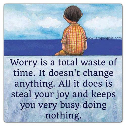 worry three