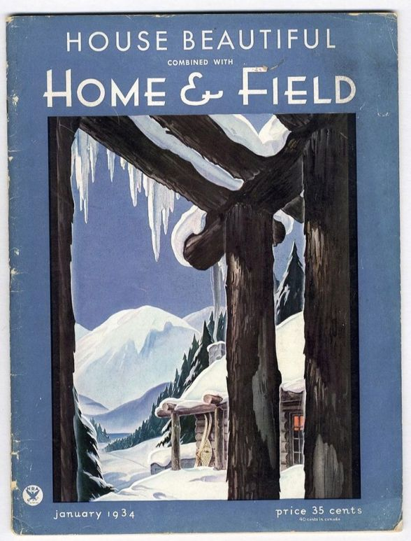 House Beautiful, January 1934