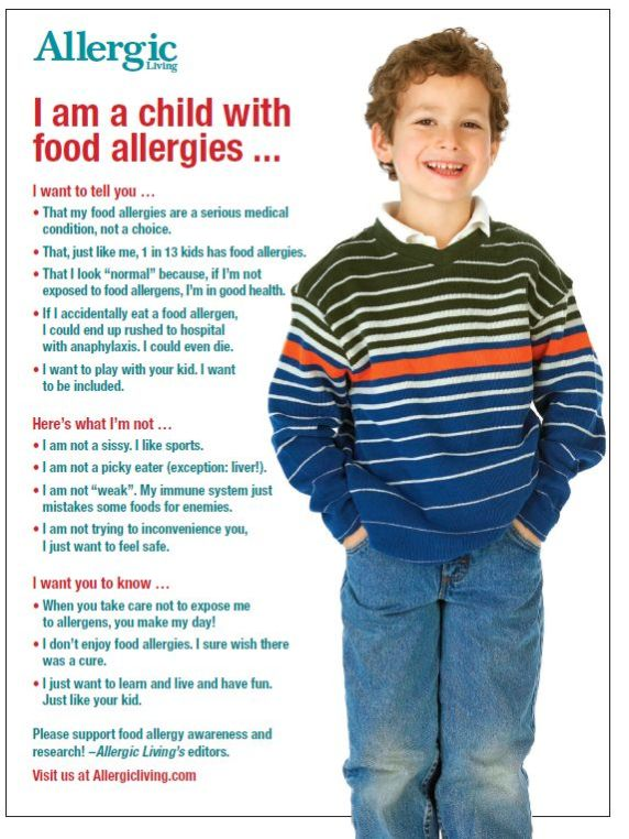 Food allergies one